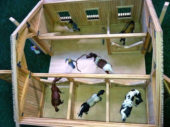 horse barns walmart stable ip set classics com play breyer