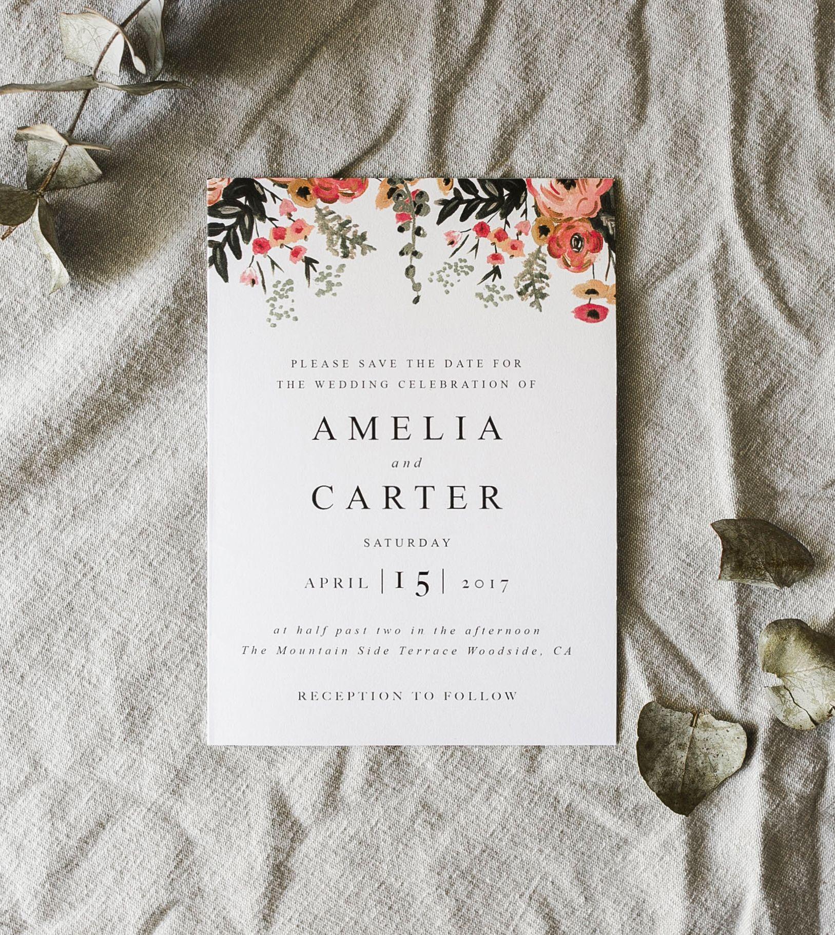 Amelia Template on Etsy, Customizable Template, Printable Wedding ...