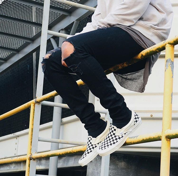Ways to Wear: Vans Checkerboard Sneakers | Moda masculina