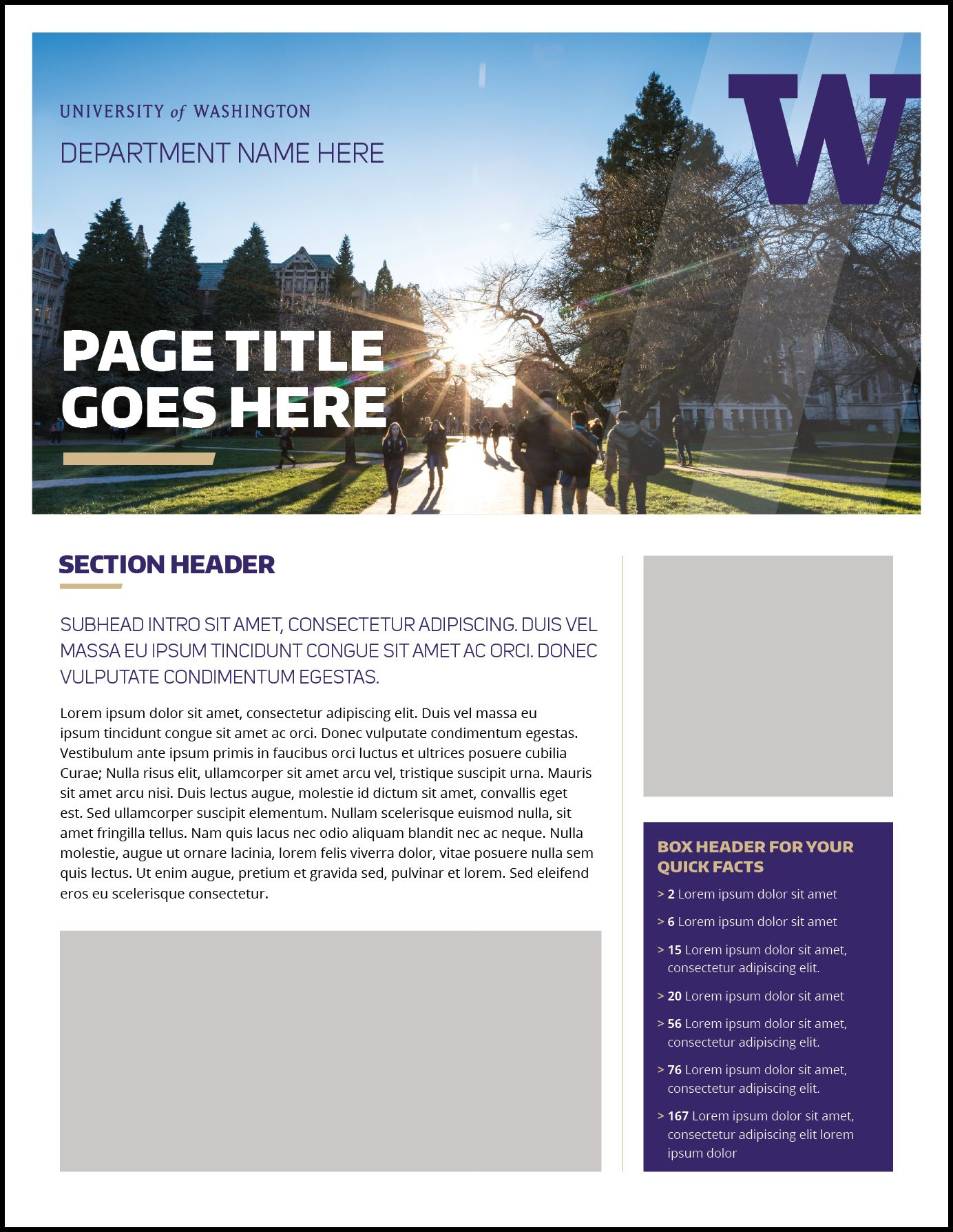 The Amusing Fact Sheet Uw Brand With Fact Sheet Template Word Picture Below Is Other Parts Of Fact Sheet Fact Sheet Professional Templates Card Template
