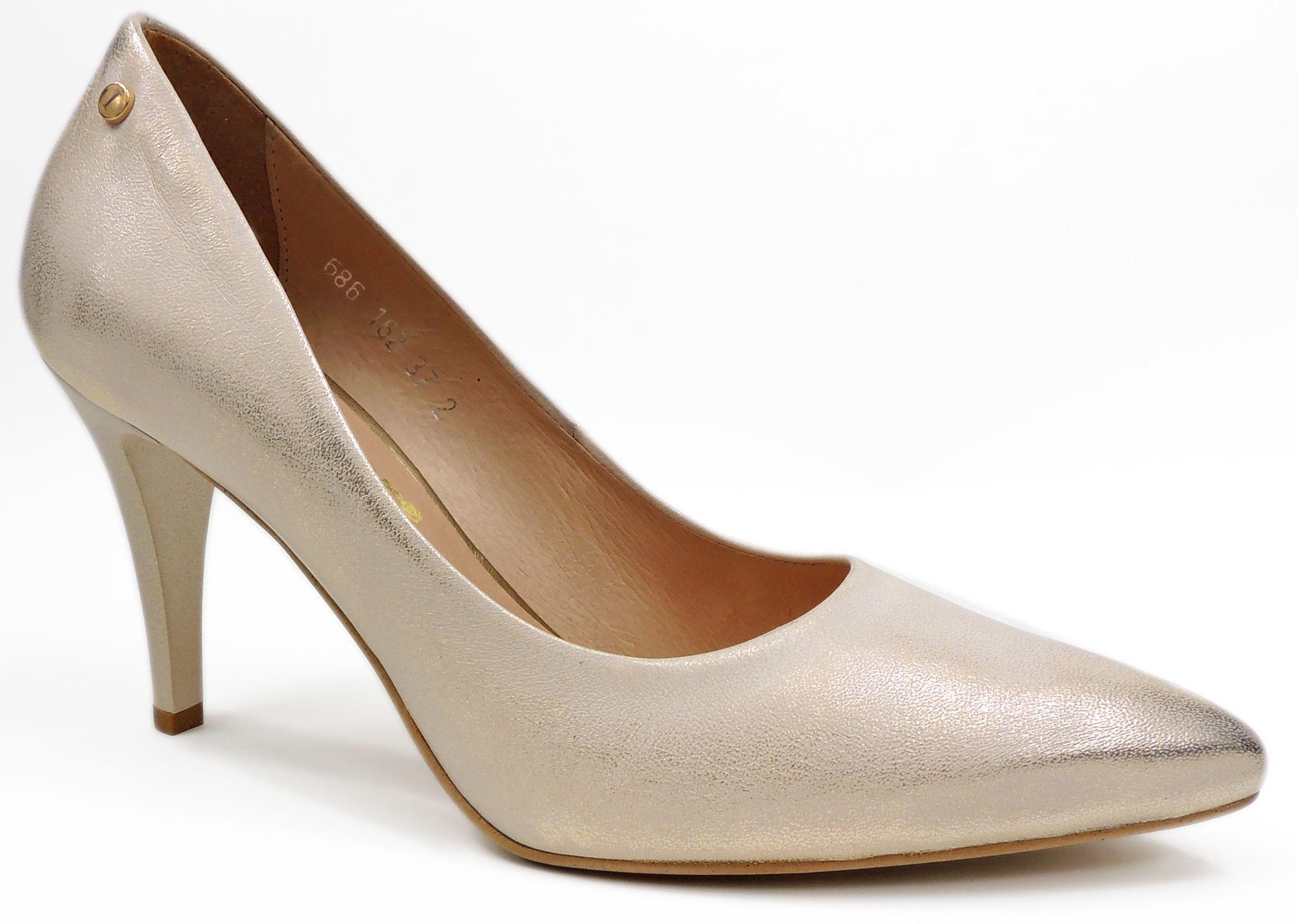 Szpilki 3700157d Wieczorowe Czolenka Heels Wedding Shoe Shoes