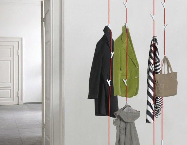 Authentics Wardrope Garderobe Das Seil Und Die Haken Gibt