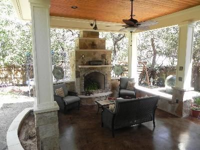 Austin Outdoor Living Spaces, Decks, Covered Porches, Patios, Pergolas And  Much