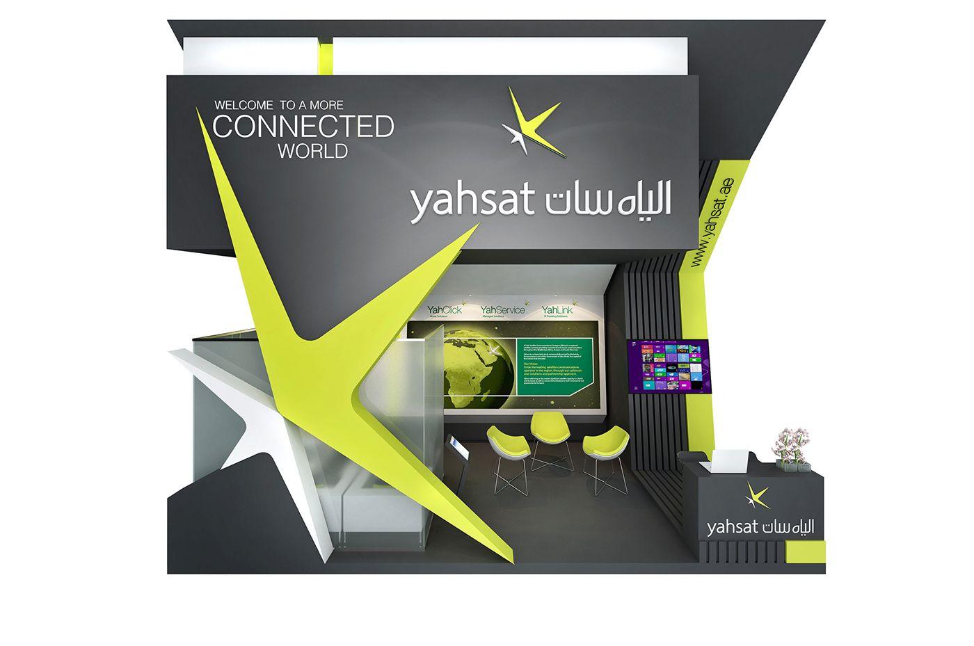 Yahsat Stall Designs Exhibition Design Stand Design