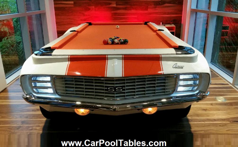 1969 Camaro Pool Table Custom Camaro Rs Indianapolis Race