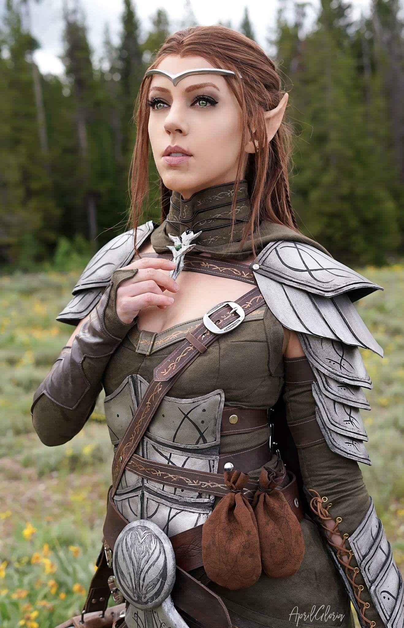 High Elf cosplay from The Elder Scrolls Online cinematic