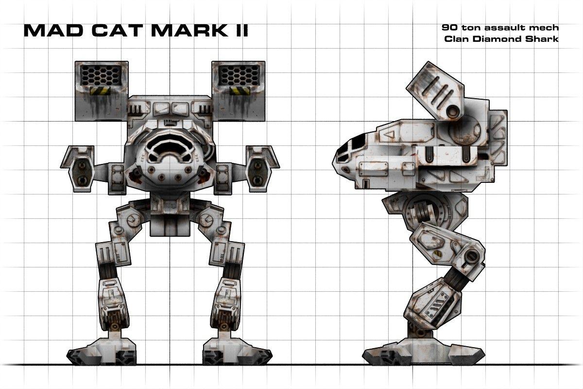 MAD CAT MKII Battletech MechWarrior MWO Mech