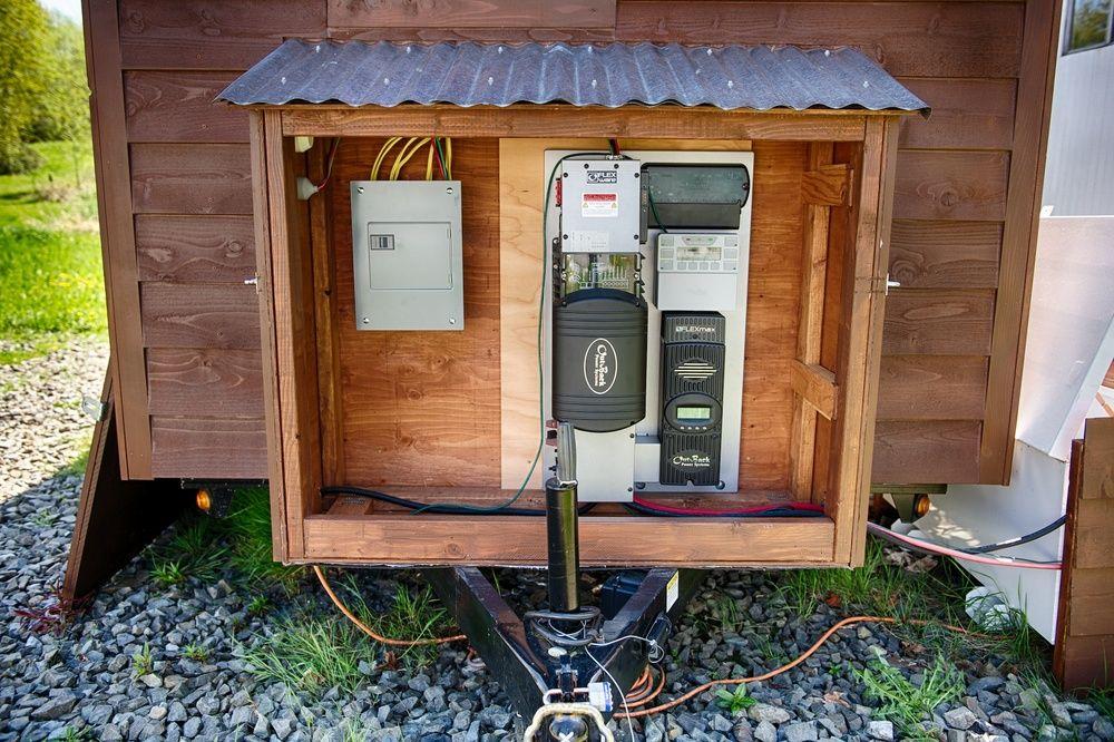 Tiny House Power System Small Solar Panels Tiny House Solar Panels