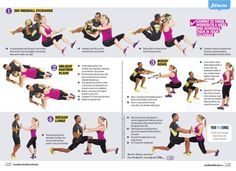 Editorial Couples Workout Routine Partner Workout Buddy Workouts