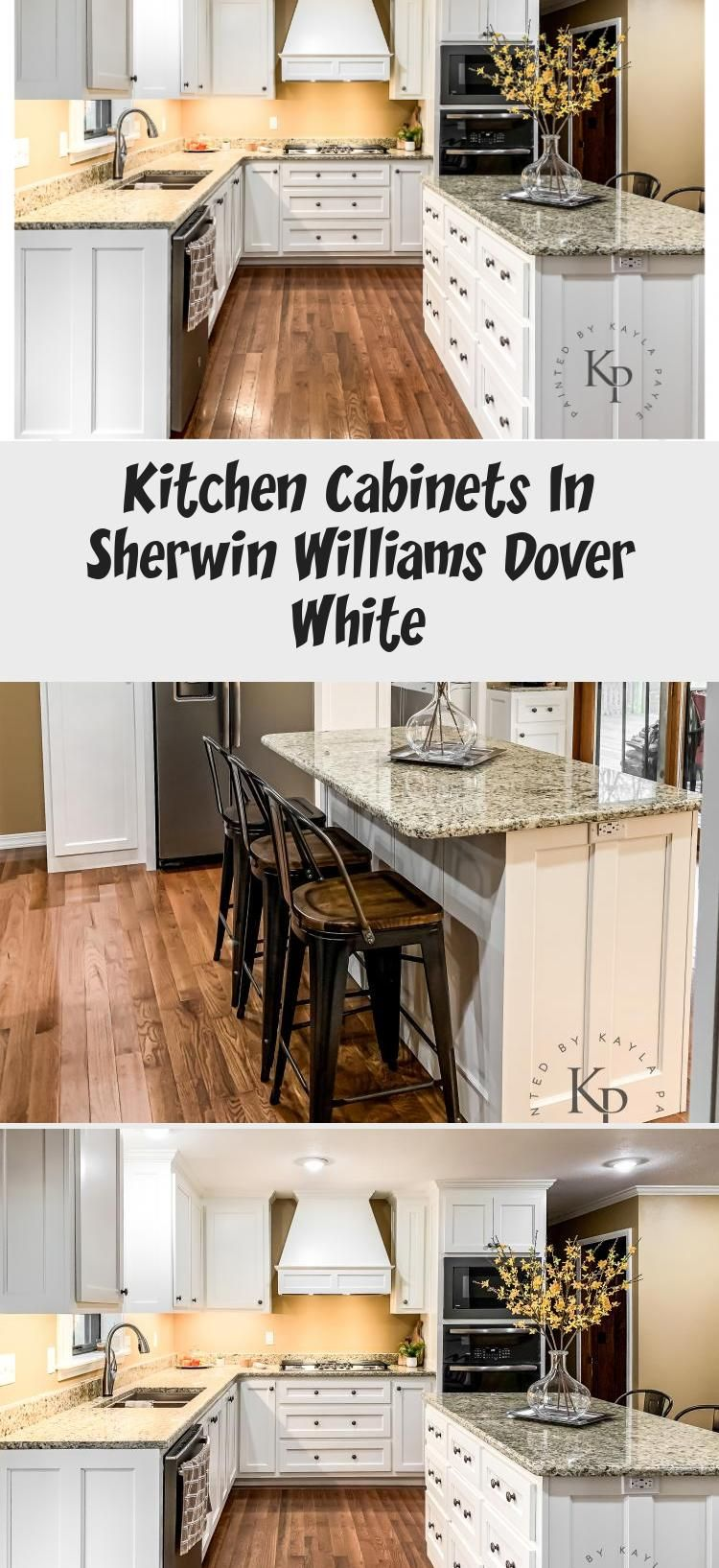 Kitchen Cabinets In Sherwin Williams Dover White Kitchen Decor In 2020 Sherwin Williams Dover White White Kitchen Decor Kitchen Colors