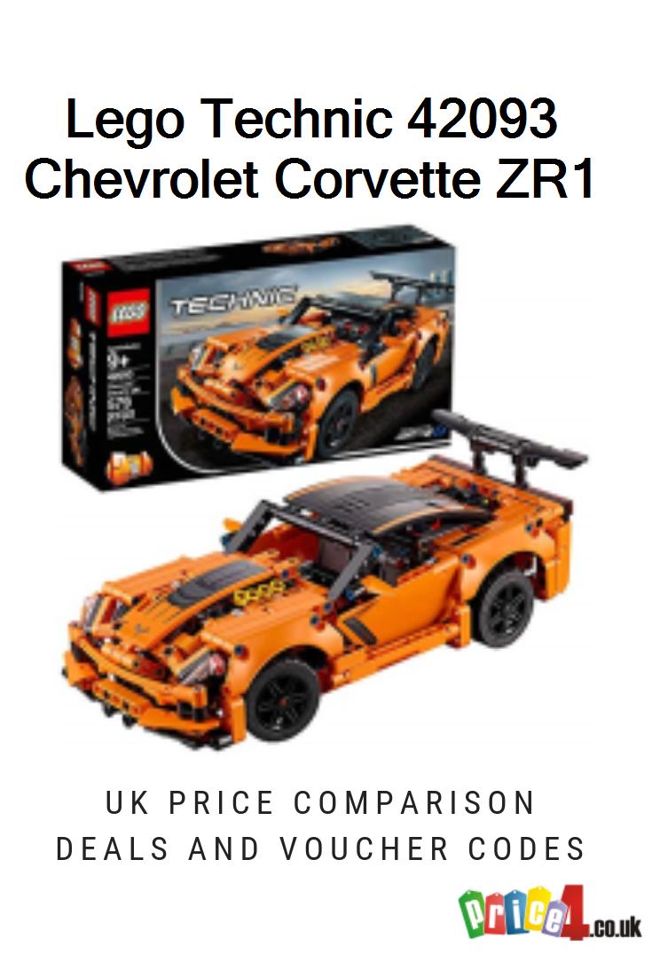 Lego Technic 42093 Chevrolet Corvette Zr1 Uk Prices Lego 42093 Technic Chevrolet Corvette Zr1 Replica 2 In 1 C Lego Technic Corvette Zr1 Chevrolet Corvette