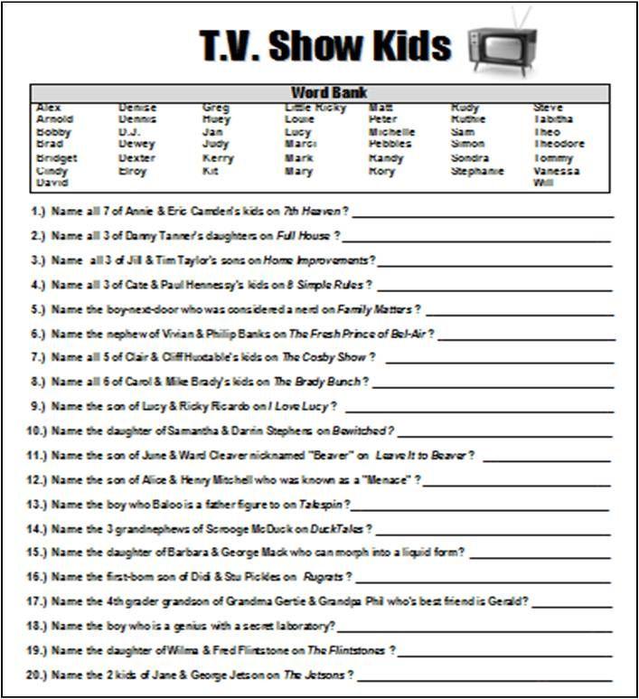 TV Show Kids