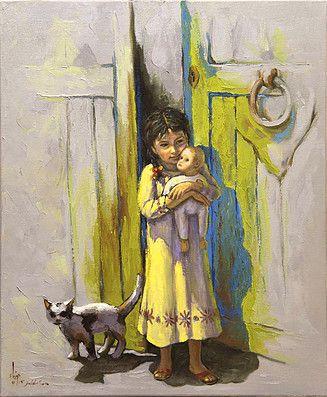 Dia Fine Arts Saudi Artist Dia Aziz Dia ضياء عزيز ضياء Paintings Gallery 3 Oil Painting Gallery Egyptian Painting Painting