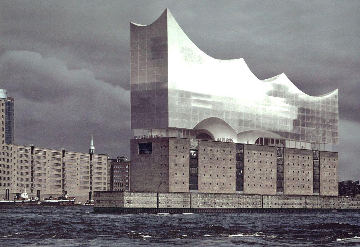 Elbphilharmonie Hamburg Herzog And De Meuron 012 Conceptual Model Architecture Architecture Amazing Buildings