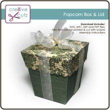 Popcorn Box & Lid