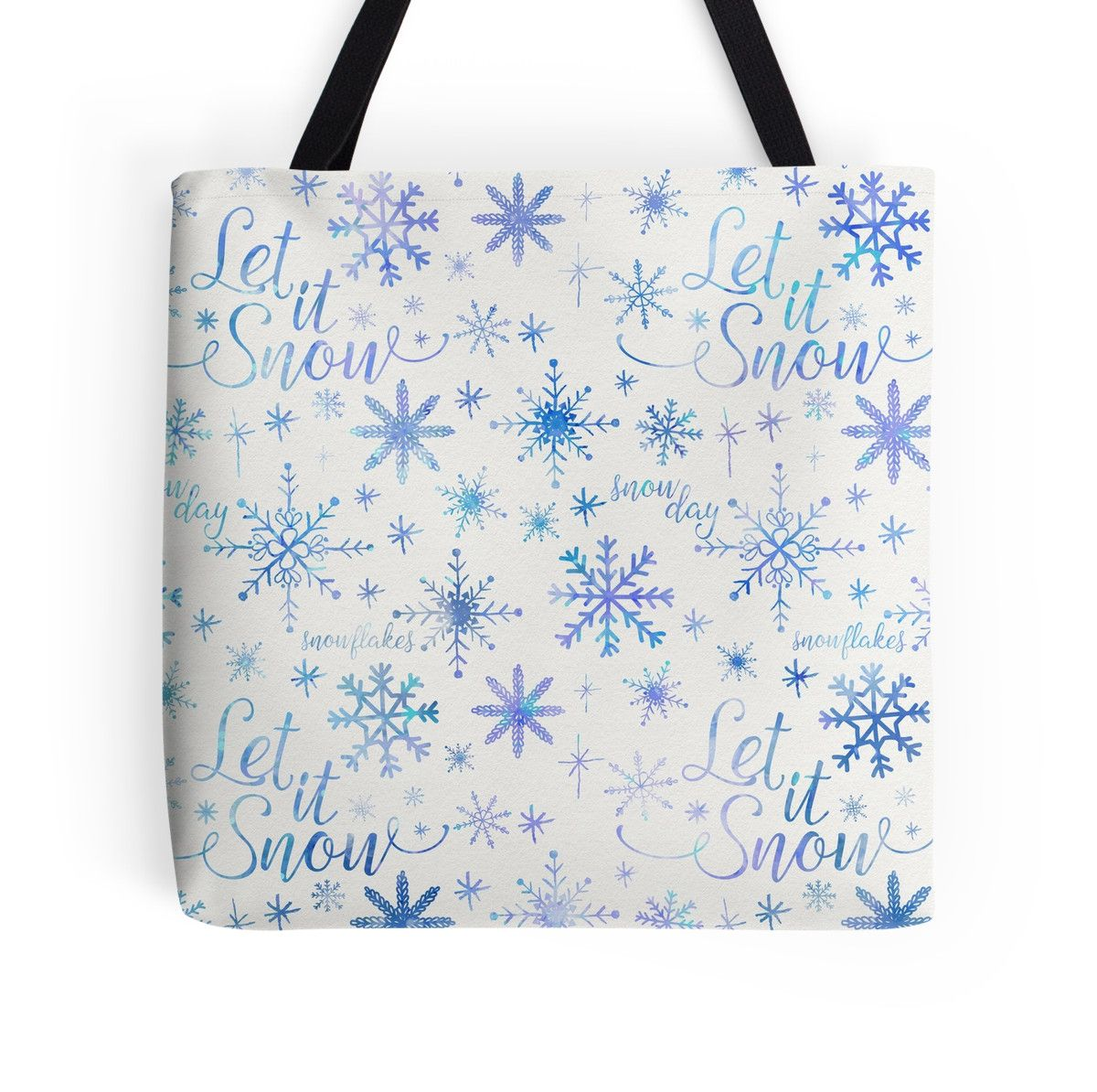 Let It Snow Pattern by noondaydesign
