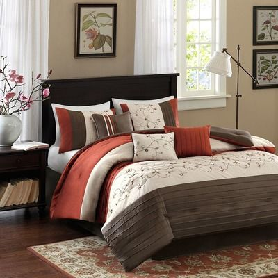 Madison Park Serene 7 Piece Comforter Set Reviews Wayfair