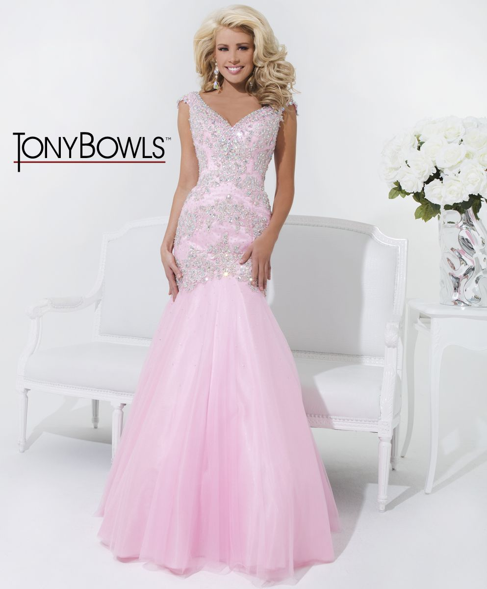 Tony Bowls Prom 2014 style 114530 in pink tulle   Bride\'s Shoppe ...