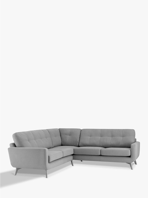 Brand New Bailey John Lewis Fabric Designer Corner Sofa Large Grey Charcoal Ebay Large Sofa Sofa Corner Sofa