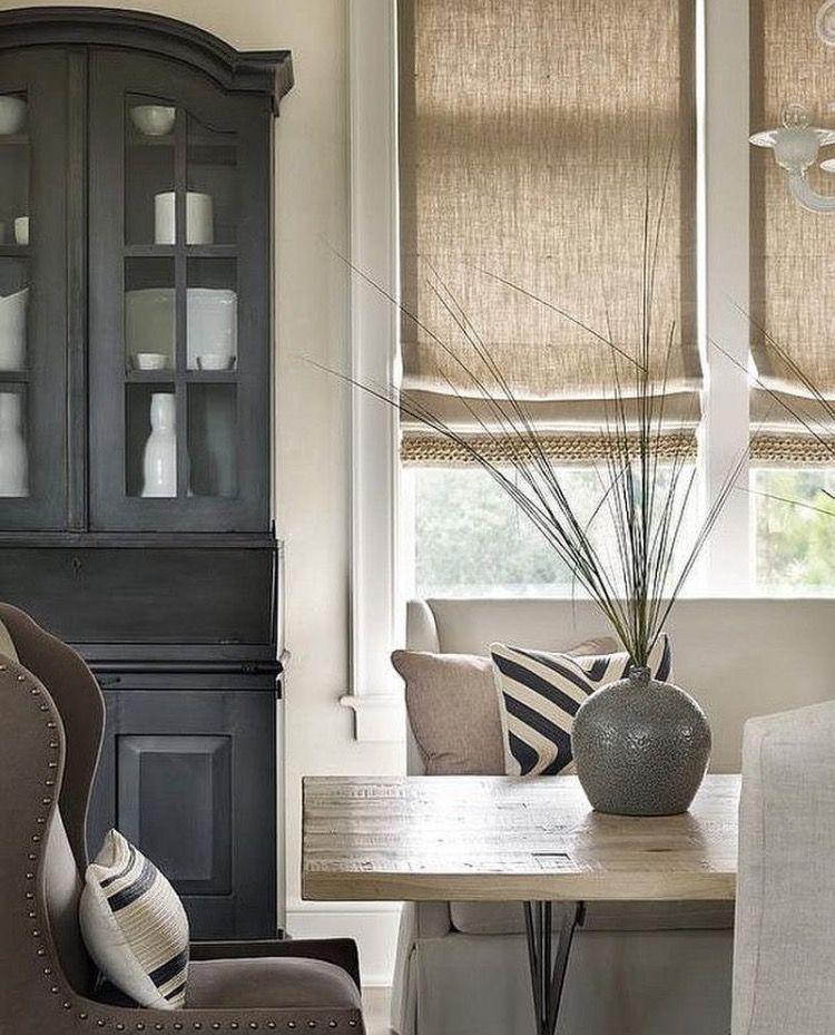 Things We Love Roman Shades Dining Room Window Treatments Window Treatments Living Room Curtains Living Room