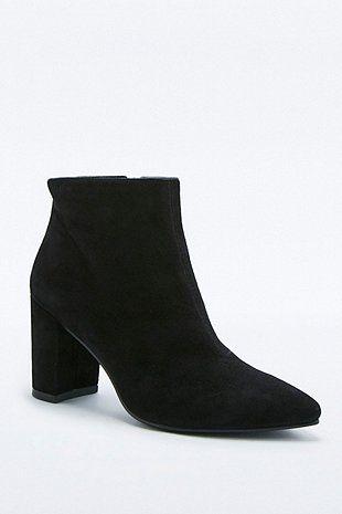 7e94b348bb Vagabond Saida Black Suede Point Ankle Boots | Cool shoes | Shoe ...