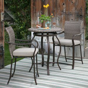Outdoor Bistro Sets On Hayneedle Outdoor Bistro Table Set With