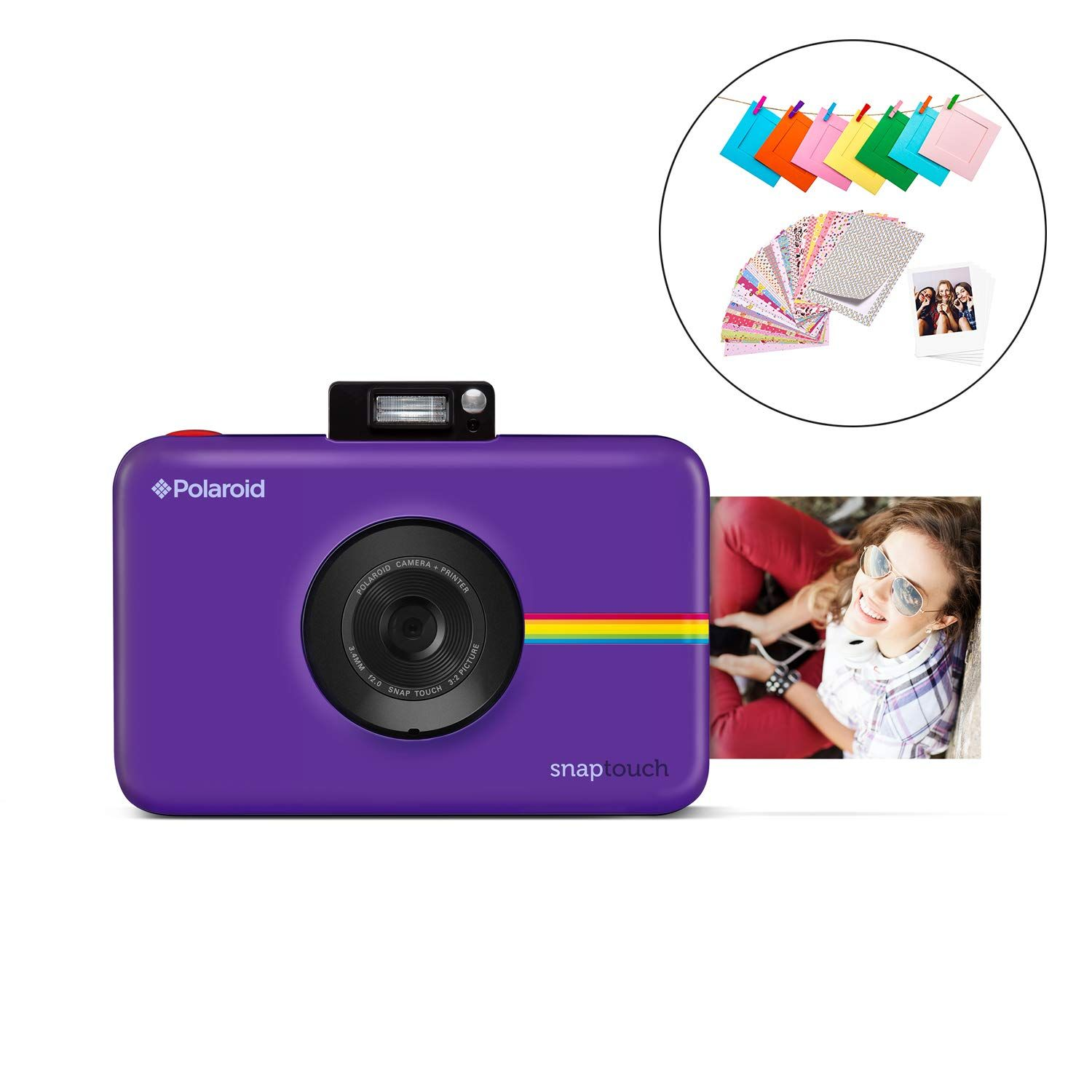 Polaroid Snap Touch 2 0 13mp Portable Instant Digital Camera W