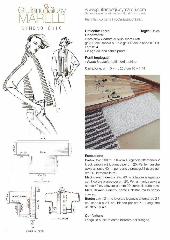 Pin de fini en tejer   Pinterest   Chaquetas, Tejido y Accesorios