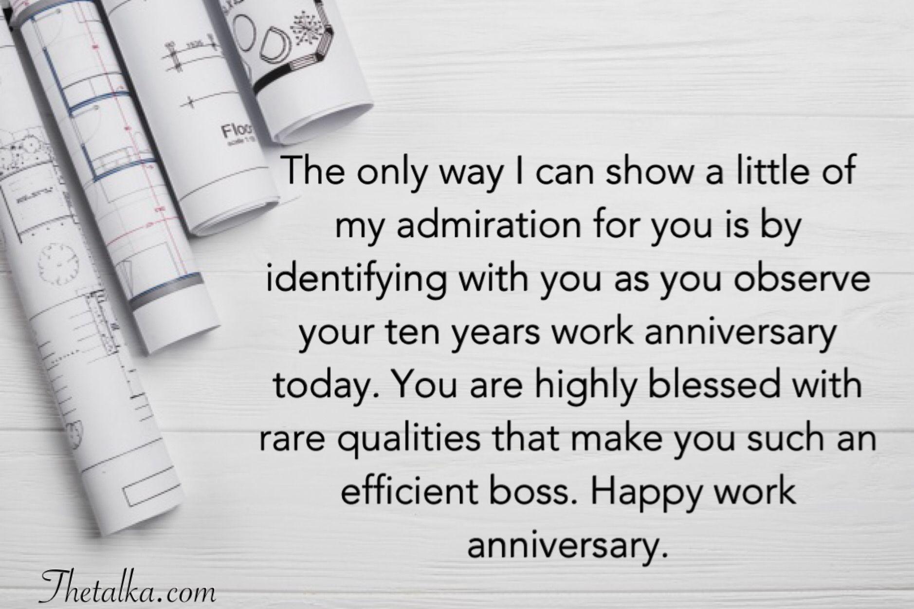 Funny Job Anniversary Quotes