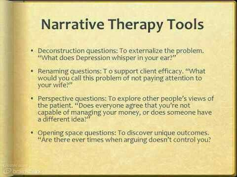 46++ Narrative therapy worksheets pdf Information
