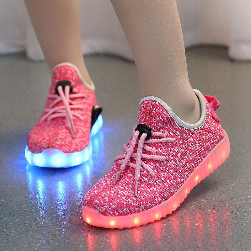 cc76bac949531 A MD Kids Yeezy Light Up Shoes