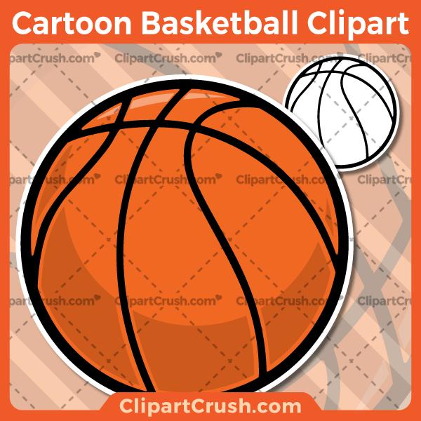 Cartoon Basketball Clipart Clip art, Basketball clipart