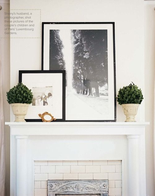 mantle styling .