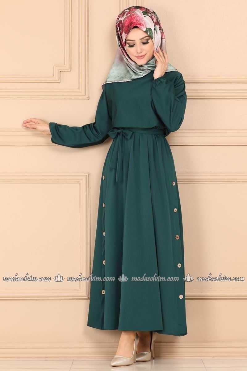 Modaselvim Gunluk Tesettur Elbise Modelleri Moda Tesettur Giyim Gunluk Te Tesettur Elbise Modelleri 2020 Elbise Modelleri Elbise The Dress