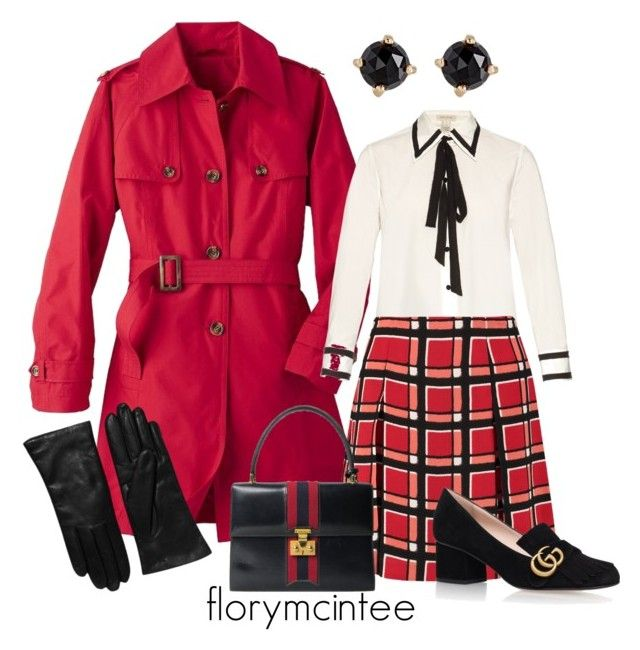"""""""Trench Coat Contest #1"""" by florymcintee ❤ liked on Polyvore featuring TravelSmith, Marc Jacobs, Marc by Marc Jacobs, Irene Neuwirth, Gucci, Saks Fifth Avenue Collection and plus size clothing"""