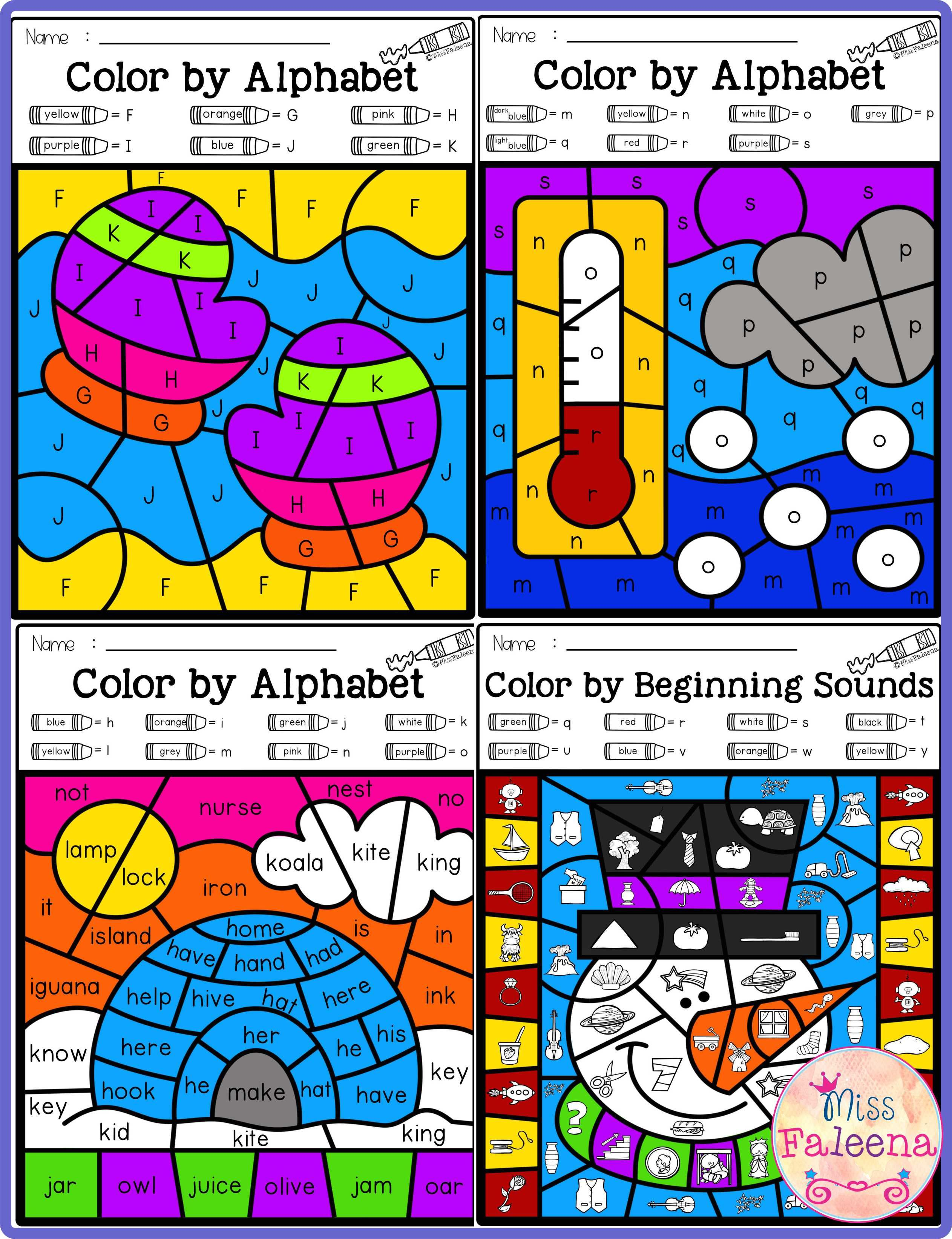 There Are 20 Pages Of Color By Alphabet Worksheets In Winter Color By Code Alphabet Also Students Would Learn Alph Winter Colors Alphabet Activities Coding [ 3284 x 2525 Pixel ]