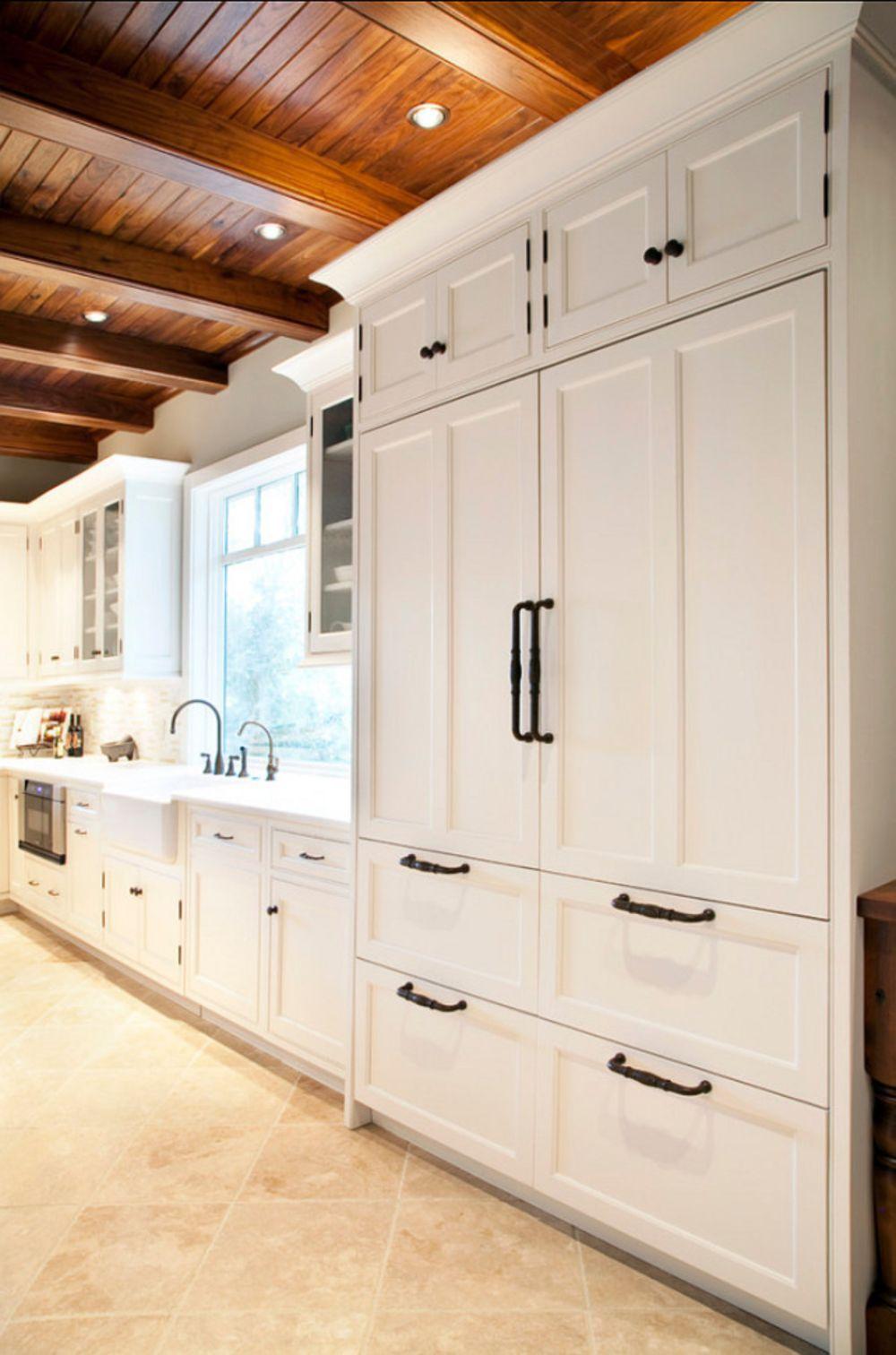 Cool luxury farmhouse kitchen decorating ideas
