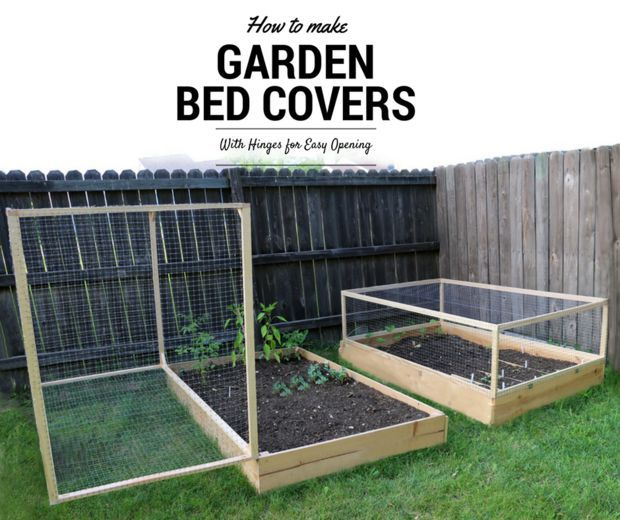 Protective Hinged Raised Garden Bed Cover Project (The
