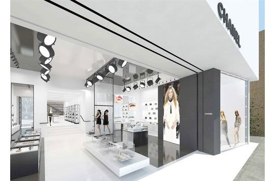 Chanel Boston Store Interior