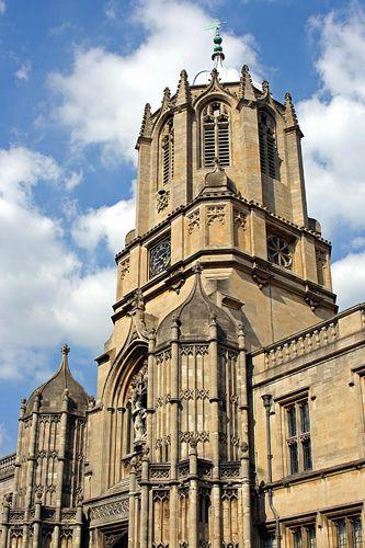 Tom's Tower, Christ Church, Oxford | por Scott A. McNealy @noboundaryphotography
