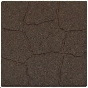 Envirotile Earth Rubber Flagstone Homedepot Check Out More