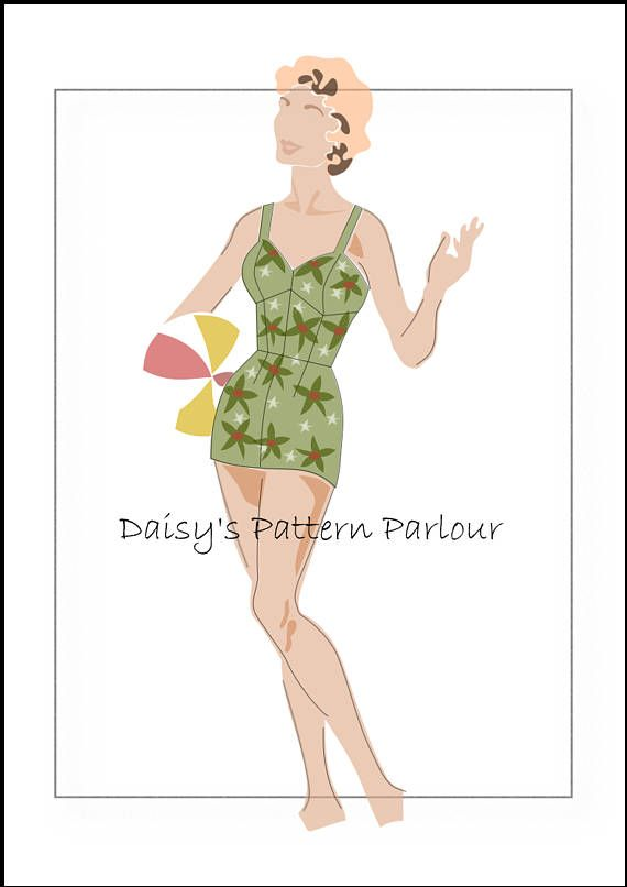 fad181d9c0b7c Vintage Patterns for sale. Make in any size including plus size. Check out  Daisy s Pattern Parlour on Etsy.