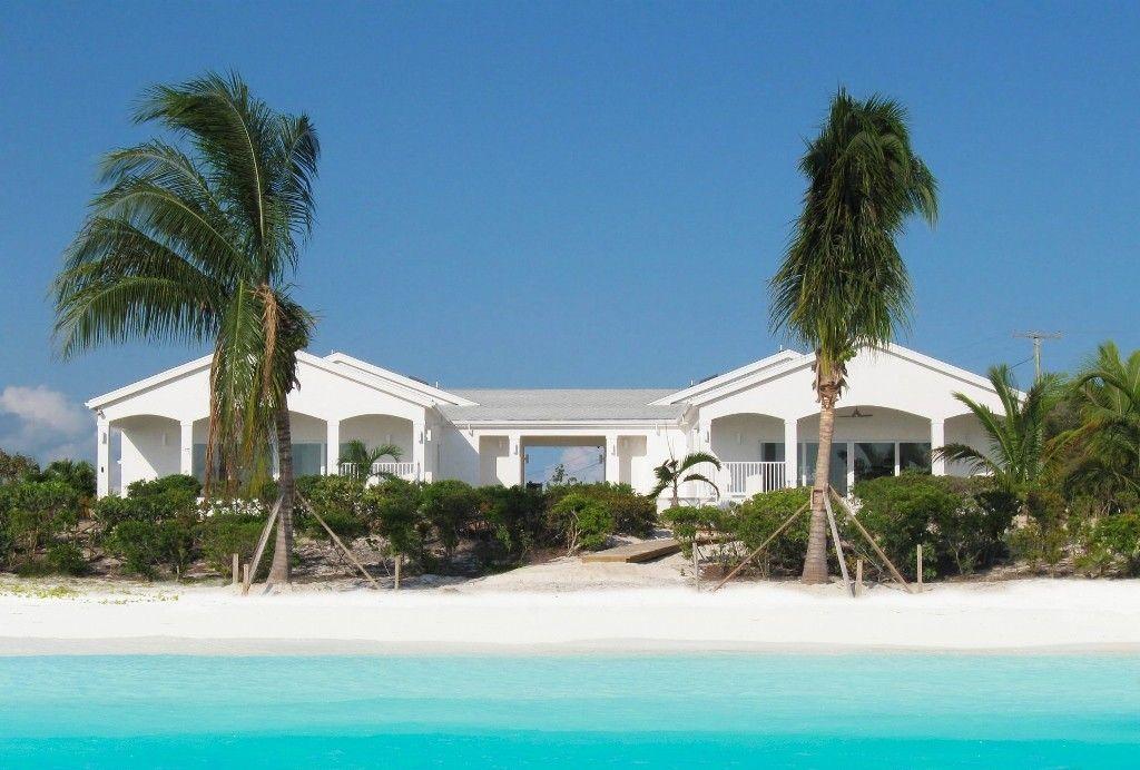Providenciales Provo Villa Al Coconut Beach Beachfront Paradise 6 Bedrooms Homeaway