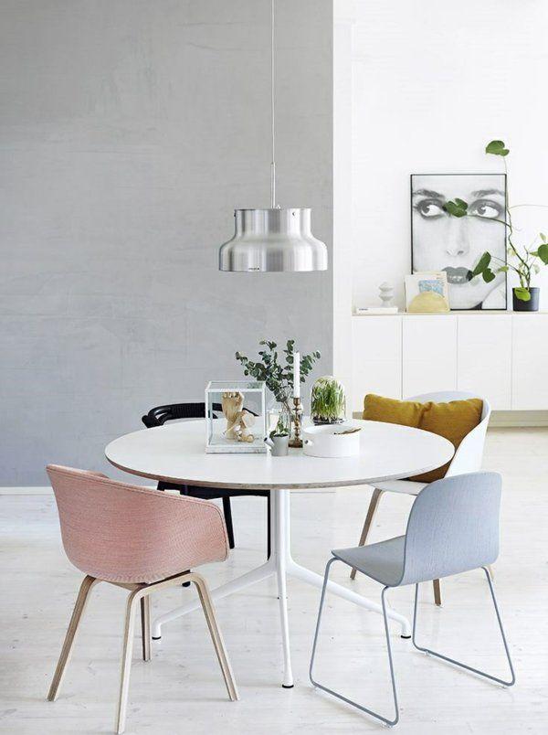Skandinavische Möbel Runde Esstische Interior Dining Room