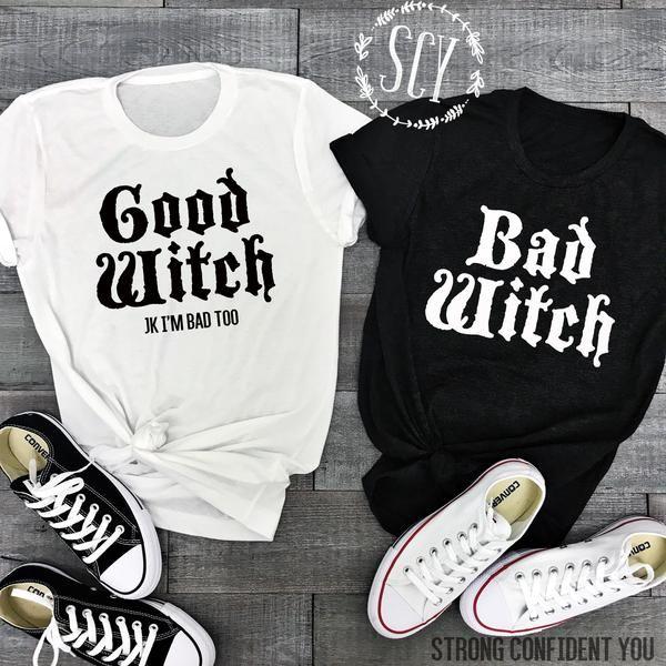 Bad Witch Good Witch #bffhalloweencostumes
