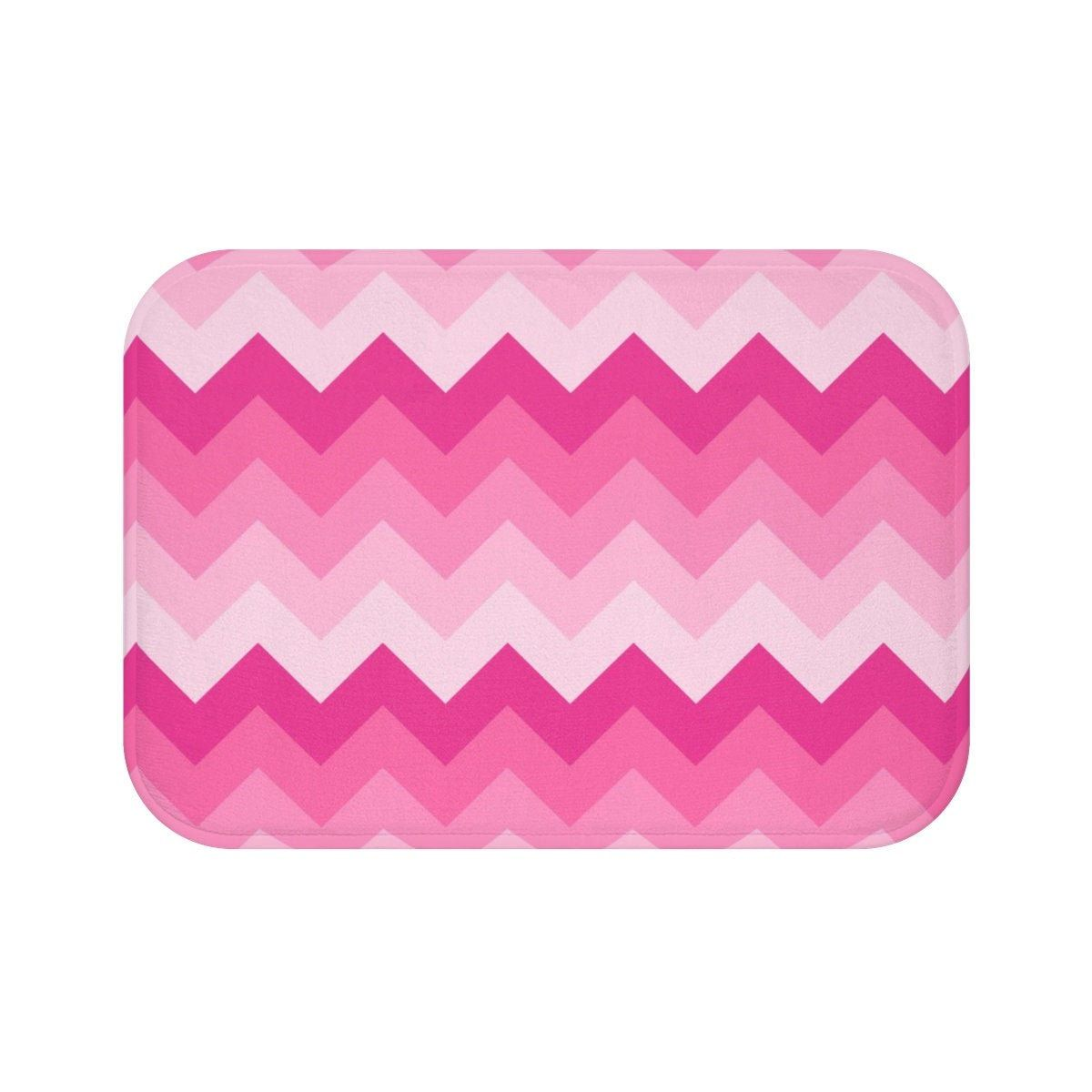 Pink Bath Mat Girls Memory Foam Bathroom Bathtub Shower Decor
