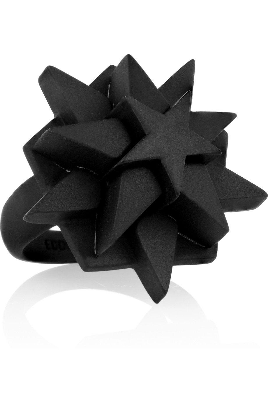 Eddie Borgo|Pentagram coated ring|NET-A-PORTER.COM
