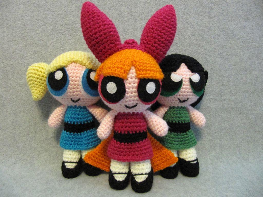 Powerpuff Girls by NerdyKnitterDesigns | Amigurumi | Pinterest ...