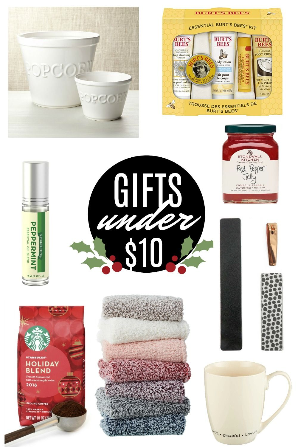 Gifts under $10 | Gifts under 10, Holiday gifts, Holiday ...
