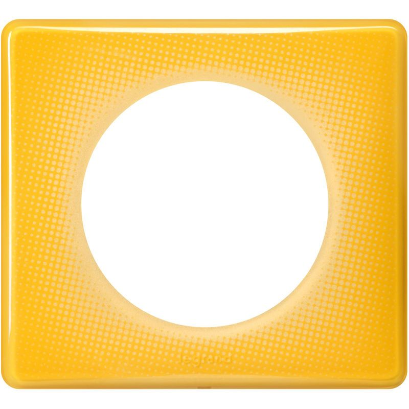 plaque c/éliane 1 poste magenta